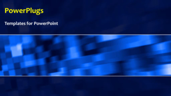PowerPoint Template - An abstract network